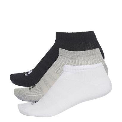 Meia Adidas Liner Cushion 3S - 3 Pares - Unissex
