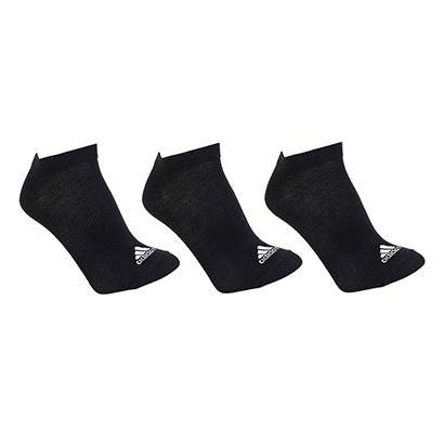 Meia Invisvel Adidas Thin Pacote C/ 3 Pares - Unissex
