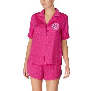 DKNY Only In DKNY Top And Boxer Pj Set - Pink * Kampagne *