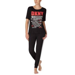 DKNY Only In DKNY T-shirt And Jogger Set - Black * Kampagne *