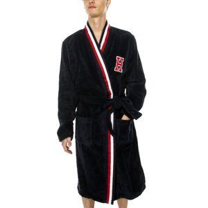 Tommy Hilfiger Modern Stripe Towelling Robe - Darkblue * Kampagne *