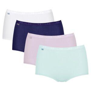 Sloggi 4-pak Basic Plus Maxi Color - Blue/Pink * Kampagne *