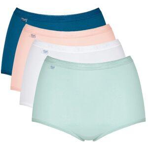 Sloggi 4-pak Basic Plus Maxi Panty - Blue/White * Kampagne *
