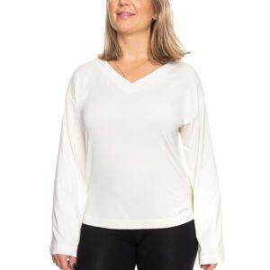 Calvin Klein Modal Coord LS Top - Ivory