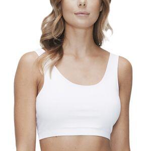 JBS of Denmark Organic Cotton Bra Top Wide Straps - White * Kampagne *