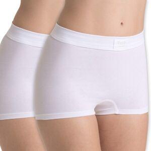 Sloggi 2 pakkaus Double Comfort Shorts - White * Kampanja *  - Size: 10022496 - Color: valkoinen
