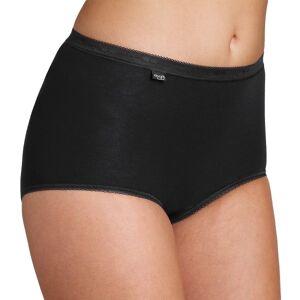 Sloggi Naisten Basic Maxi - Black  - Size: 10005037 - Color: musta