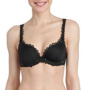 Marie Jo Jane Heart Shaped Padded Bra - Black  - Size: 0101336 - Color: musta