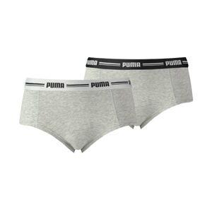Puma 2 pakkaus Iconic Mini Shorts - Grey