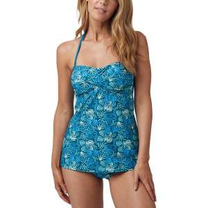 Abecita Miami Twisted Tankini - Blue Pattern  - Size: 479661 - Color: Sininen kuvioi