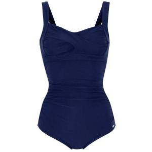 Abecita Capri Twisted Delight Prosthetic Swimsuit - Navy-2  - Size: 405460 - Color: Merensininen