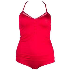 Calvin Klein Playful Cami Hipster Set - Red * Kampanje *