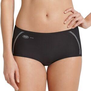 Anita Active Sporty Brief Panty - Black