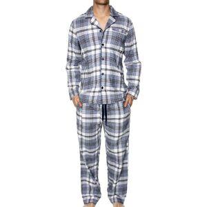 Gant Flannel Pyjama - Navy pattern * Kampanje *