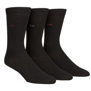 Calvin Klein 3-pakning Maddox Flat Knit Socks Gift Box - Black