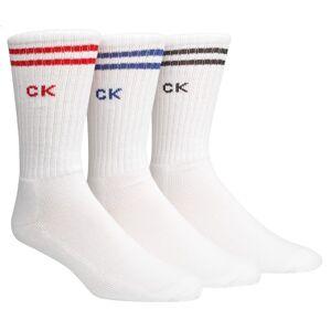 Calvin Klein 3-pakning Bradford Sport Socks - White