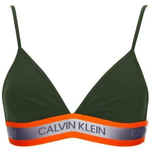 Calvin Klein Hazard Cotton Unlined Triangle - Darkgreen * Kampanje *