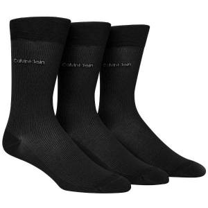 Calvin Klein 3-pakning Marshall Short Crew Sock - Black * Kampanje *