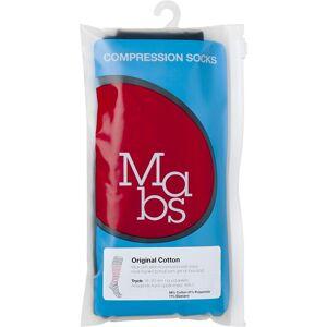 Mabs Bomull kompresjonsstrømpe sort XL