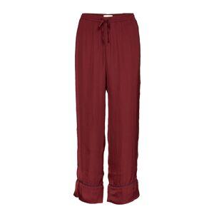 GAP Dreamwell Satin Crop Pants Pyjamasbyxor Mjukisbyxor Röd GAP