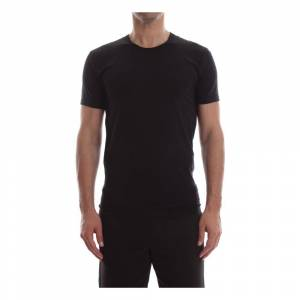 Calvin KLEIN 000NB1164E S/S CREW NECK T SHIRT AND TANK LONGWEAR Men BLACK (Sort)