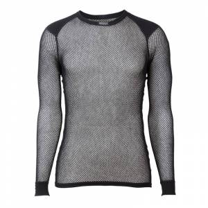 BRYNJE Wool Thermo Shirt with Inlay Sort Sort S