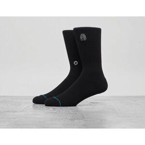 Stance x Footpatrol Gas Mask Sock - Musta, Musta  - Male - Size: One Size