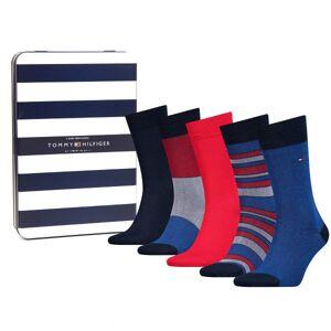 Tommy Hilfiger 5 pakkaus Men Sock Birdeye Giftbox - Mixed  - Size: 492005001 - Color: Multi-colour