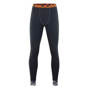 Bula Camo Merino Solid Wool - Longs - Mørkegrå - XL