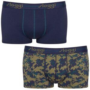 Sloggi 2-pakning For Men Start Hip - Navy pattern * Kampanje *