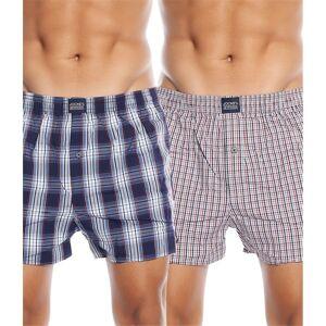 Jockey 2-pakning Woven Boxer Shorts - Stone