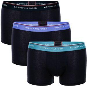 Tommy Hilfiger 3-pakning Premium Essentials Trunk - Black/Mint