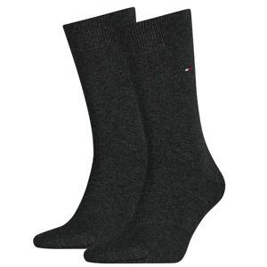 Tommy Hilfiger 2-pakning Men Classic Sock - Darkgrey