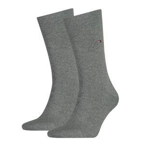 Tommy Hilfiger 2-pakning Men Classic Sock - Grey