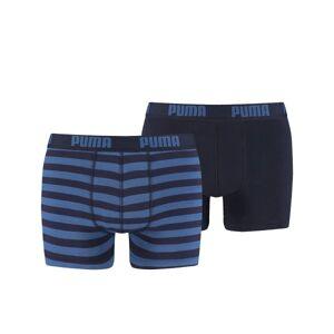Puma 2-pakning Stripe Boxer - Blue