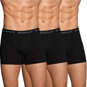 Gant 3-pakning Cotton Stretch Boxer - Black