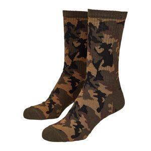 Urban Classics Urban klassikere menns sport sokker Camo sokker Twin Pack
