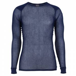 BRYNJE Super Thermo Shirt with Shoulder Inlay Blå