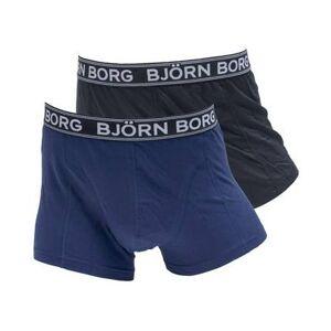 Björn Borg Kalsonger Iconic Solids 2-pack Svart