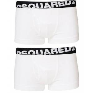 Dsquared2 2-Pack Cotton Stretch Trunk White