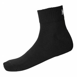 Helly Hansen Lifa Active 2-pack Sport Sock 36-38 Black