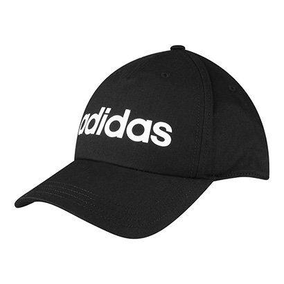 Boné Adidas Aba Curva Daily Masculino - Masculino-Preto