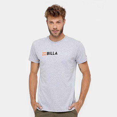Camiseta Billabong Pitstop Masculina - Masculino-Cinza