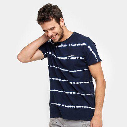Camiseta Billabong Sundays Masculina - Masculino-Marinho