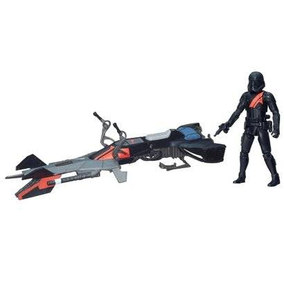 Veículo Classe I - Star Wars - Episódio VII - Speeder Bike - Hasbro - Disney - Masculino-Incolor