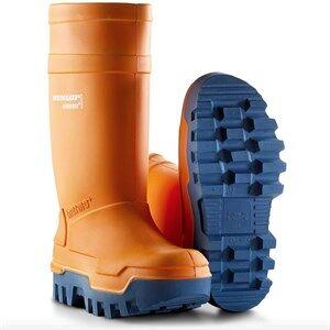 Dunlop Purofort Thermo+ Sikkerhedsgummistøvler (Orange) Str. 48 48