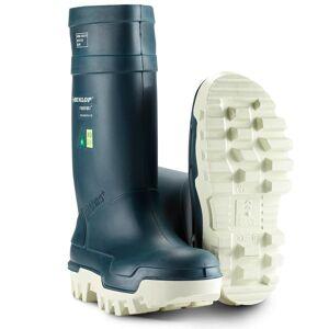 Dunlop Purofort Thermo+ Sikkerhedsgummistøvler (Blå) Str. 44