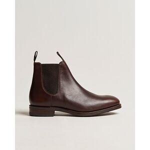 Loake 1880 Chatsworth Chelsea Boot Dk Brown Waxy Calf men UK9,5 - EU43,5 Brun