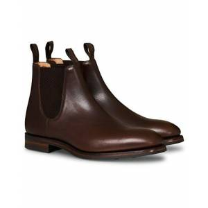 Loake 1880 Chatsworth Chelsea Boot Dk Brown Waxy Calf men UK11 - EU45 Brun