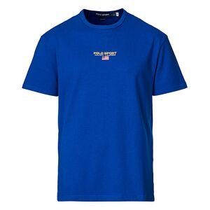 Polo Ralph Lauren Sport Logo Tee Saphire Star men M Blå